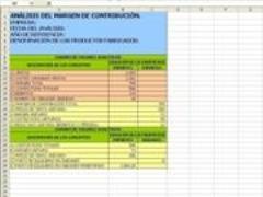 Análisis de los costos de mano de obra actual y standard.